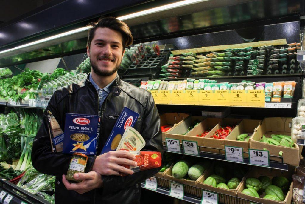 Vivere a Sydney : prodotti Italiani