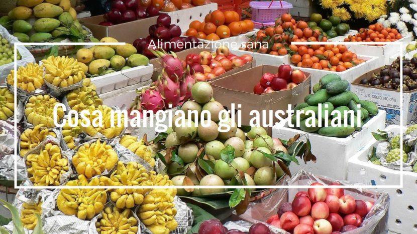 alimentazione sana australia
