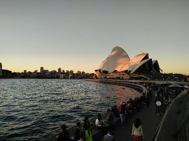 trovare lavoro in Australia: opera house